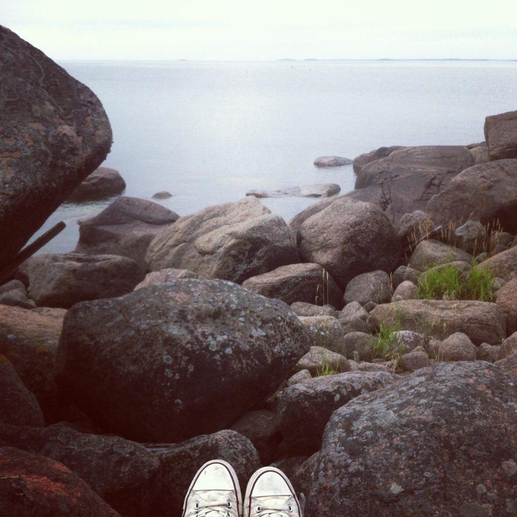 On tasaista, on kivikkoa, on esteitä, on vaivattomuutta, on sitä ja tätä. Se on elämää.