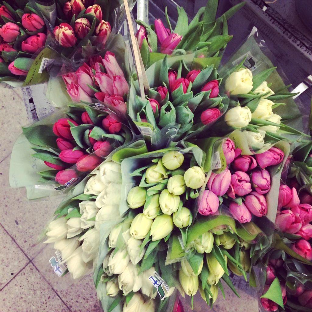 Onnea on lisää kauniita kukkia!